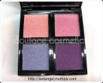 Dollface Cosmetics Shimmery Eyeshadow Quads
