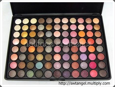 Dollface Cosmetics 88 Palette Eyeshadow