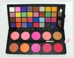 DollFace Cosmetics 42 Color Shimmer Eyeshadow and Blush Palette