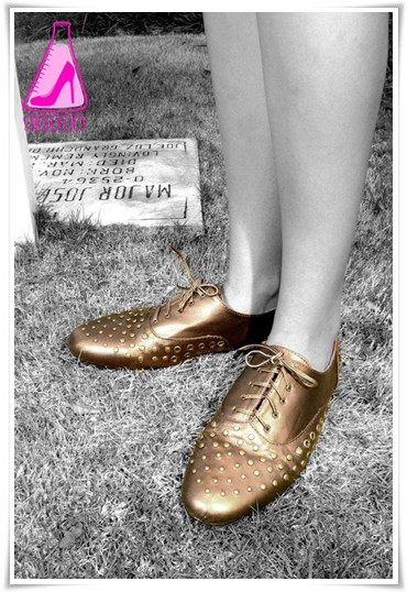Shoeology Studded Lace Up Brogues Juno PhP 1199