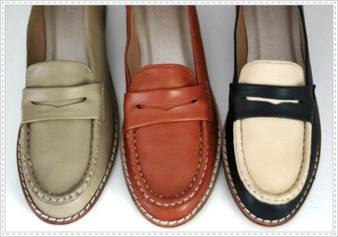 Renegade Folk The Lucky Ones Leather Loafers